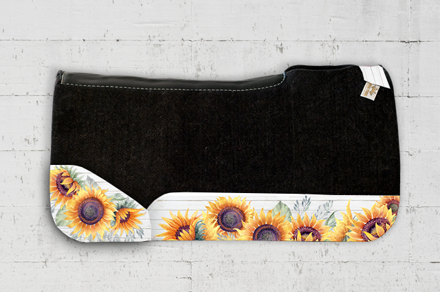 Morgan Sunflower Saddle Pad