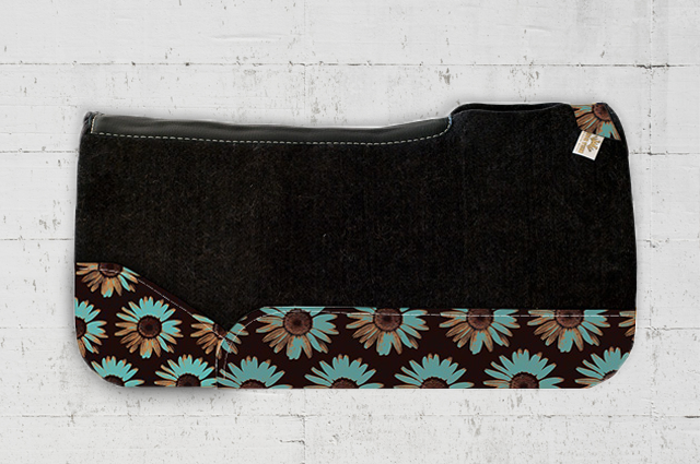 Shelby Sunflower Saddle Pad