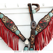 Wild West  Breastcollar / Tack Set