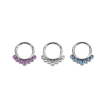 Septum Ring Stainless Steel 1.2mm BJ1295