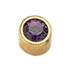 February Gold Bezel - Amethyst FD2041 - Rossan Distributors