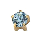 March Gold Clawset - Aquamarine FD2042C - Rossan Distributors