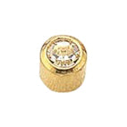 April Gold Bezel Mini - Clear Crystal FD2043M - Rossan Distributors