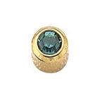 December Gold Bezel Mini - Blue Zircon FD2051M - Rossan Distributors