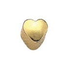 Heart Gold Stud Mini - FD2072M - Rossan Distributors