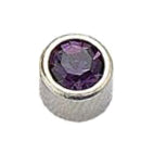 February Stainless Steel Bezel - Amethyst FD3041 - Rossan Distributors
