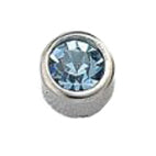 March Stainless Steel Bezel - Aquamarine FD3042 - Rossan Distributors