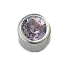 June Stainless Steel Bezel - Alexandrite FD3045 - Rossan Distributors