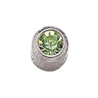 August Stainless Steel Bezel Mini - Peridot FD3047M - Rossan Distributors