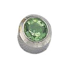 August Stainless Steel Bezel - Peridot FD3047 - Rossan Distributors