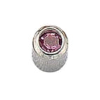 October Stainless Steel Bezel Mini - Pink Zircon FD3049M - Rossan Distributors