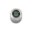 December Stainless Steel Bezel Mini - Blue Zircon FD3051M - Rossan Distributors