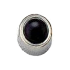 Black Onyx Stainless Steel Stud Bezel - FD3054 - Rossan Distributors