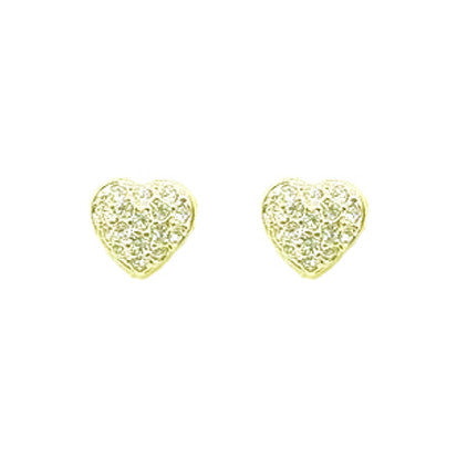 Crystal Heart Stud FE4271 - Rossan Distributors