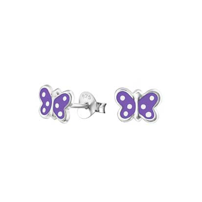 Butterfly Stud Earrings FE4452PU - Rossan Distributors