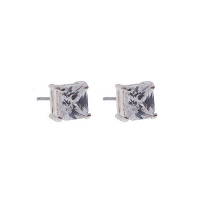 Square 7mm Cubic Zirconia FE4503
