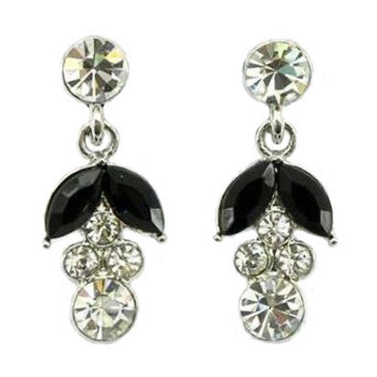 Black Cubic Zirconia Drop FE4549 - Rossan Distributors