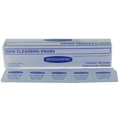 Alcohol Swabs 200/box RD4009 - Rossan Distributors