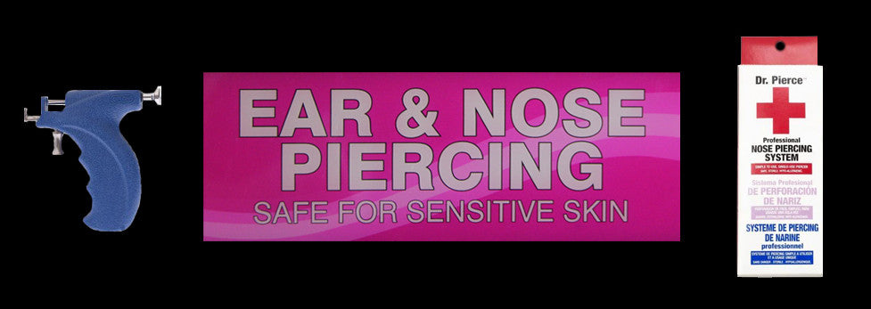 Nose bone piercing