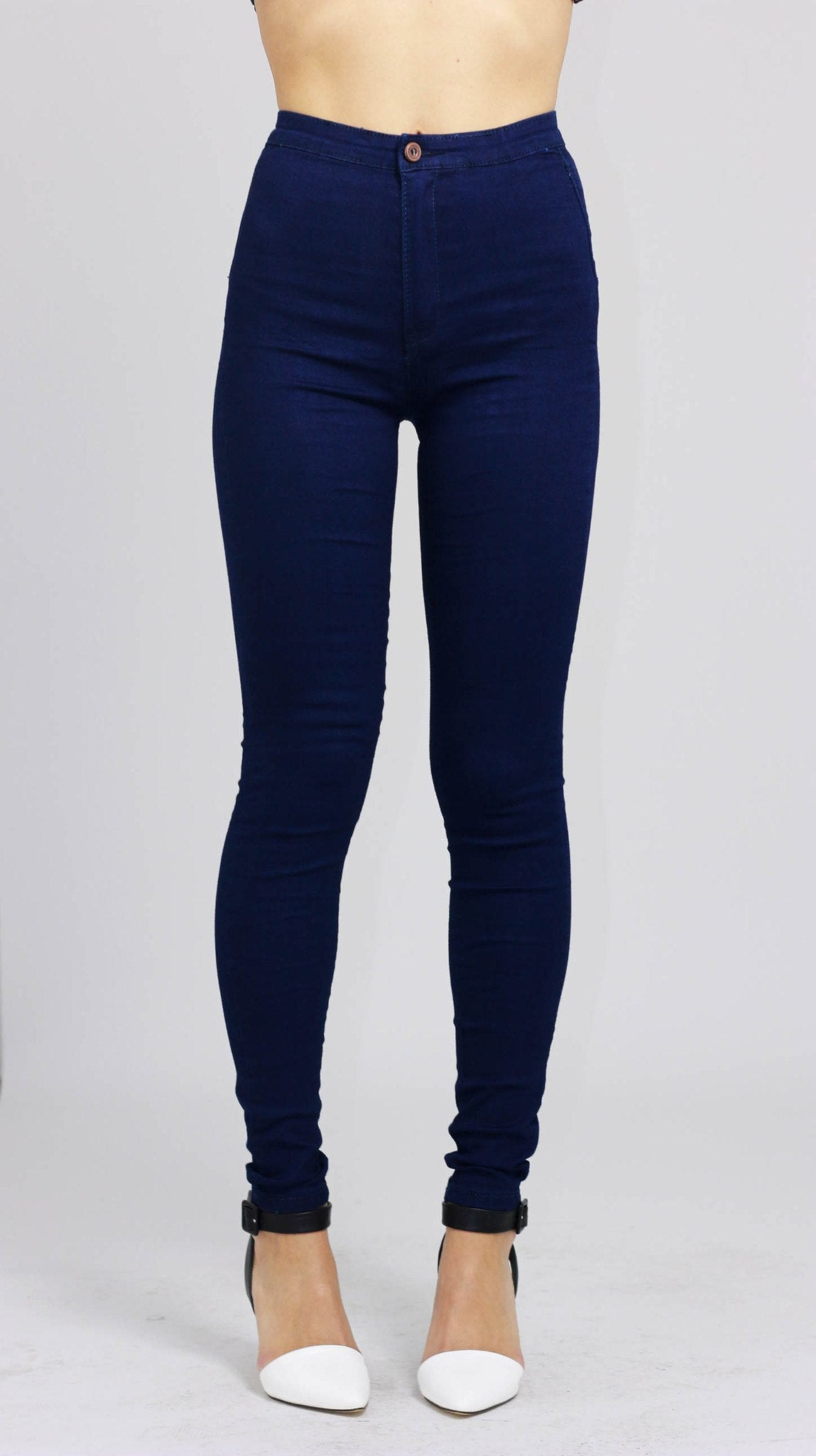 Free shipping High Waist Pants in DARK BLUE S with only $ online and shop other cheap Jeans on sale at russia-youtube.tk