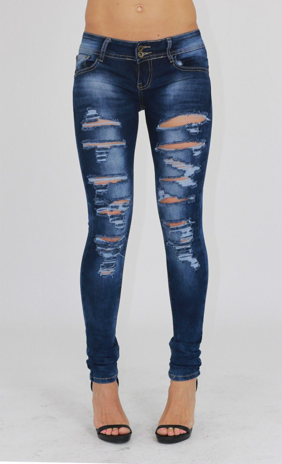 Women's Jeans. With classic styles, colourful rinses, Whether you stick to blue and black denim, Team high waisted jeans with a bright crop top and lace up sneakers for effortless retro cool, or match ripped skinny jeans with a basic tee and ballet flats for casual glam.