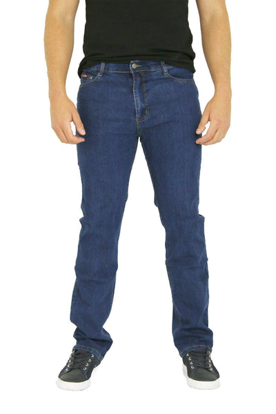 MENS STRAIGHT LEG CLASSIC DENIM JEANS ALL WAIST & SIZES - Dresskode  - 3