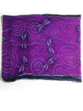 Load image into Gallery viewer, Dragonflies Cowl in Berry-Sherit Levin