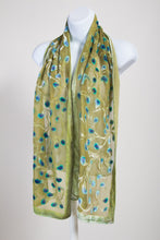 Load image into Gallery viewer, Velvet Scarf in Yellow