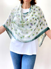 Load image into Gallery viewer, Ivory Velvet Poncho