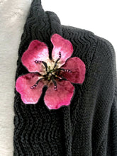 Load image into Gallery viewer, Large Fuchsia Flower Pin-Sherit Levin