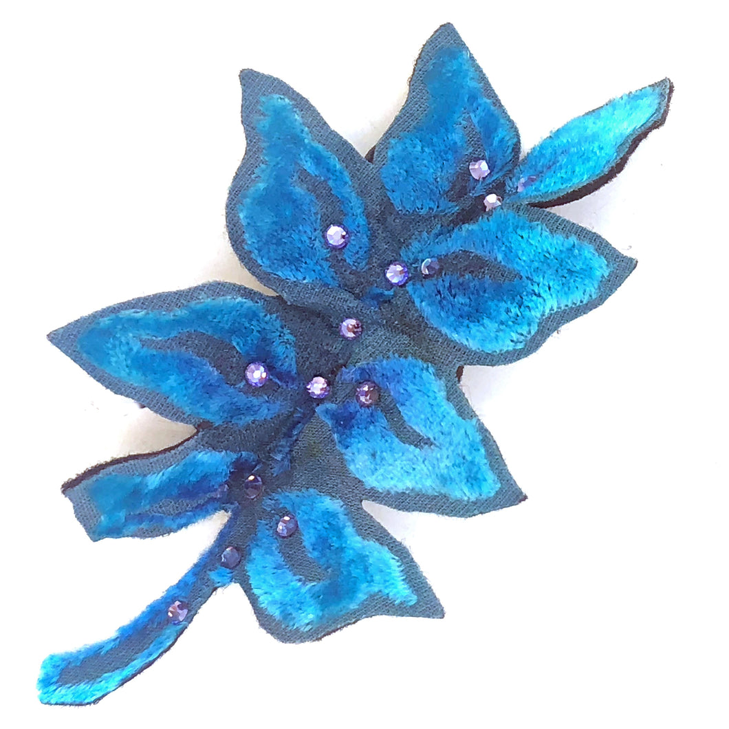 Leaf Pin or Hair Clip-Sherit Levin