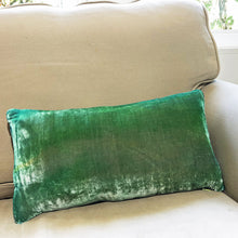 Load image into Gallery viewer, Shades of Green Gingko Pillow-Sherit Levin