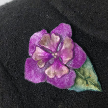 Load image into Gallery viewer, Velvet Flower Pins and Hair Clip in 4 colors-Sherit Levin