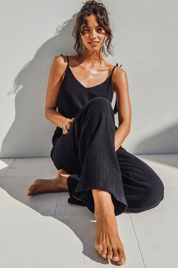 FORREST JUMPSUIT - BLACK
