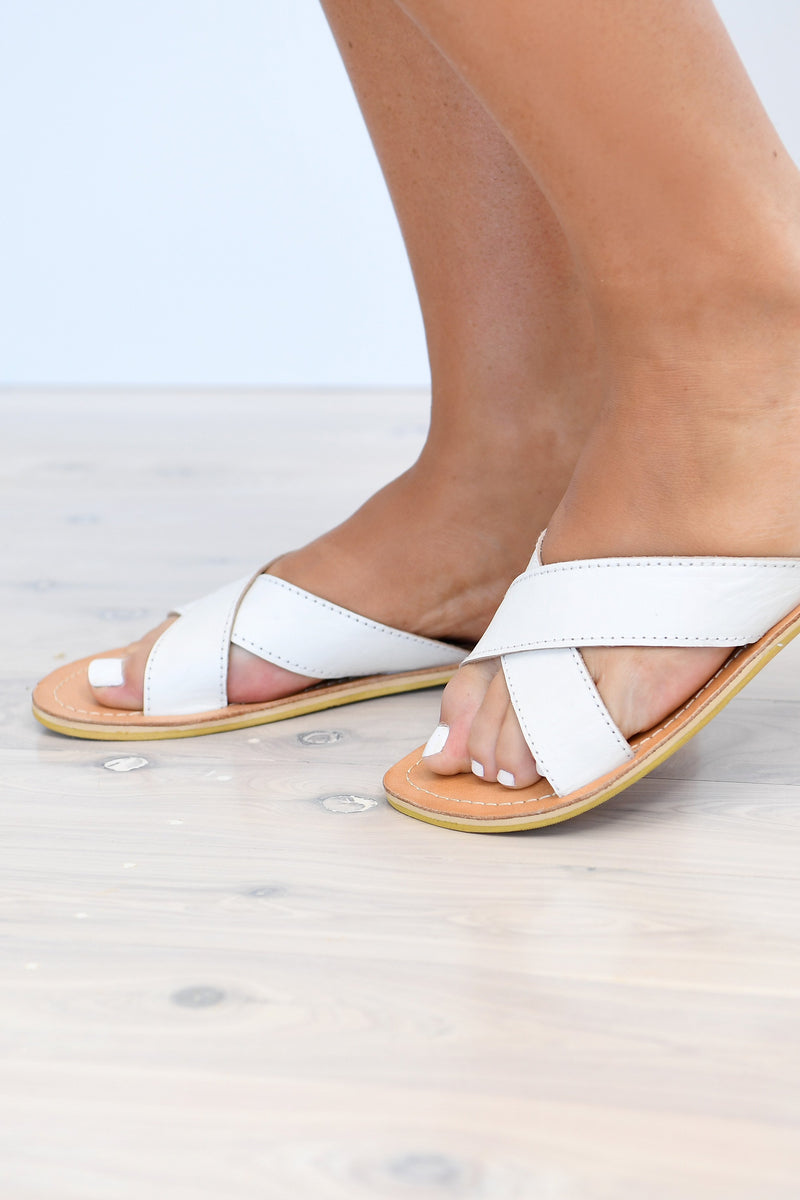 PAXTON SLIDES - WHITE