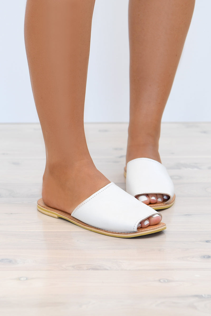 LIANA SLIDES - WHITE