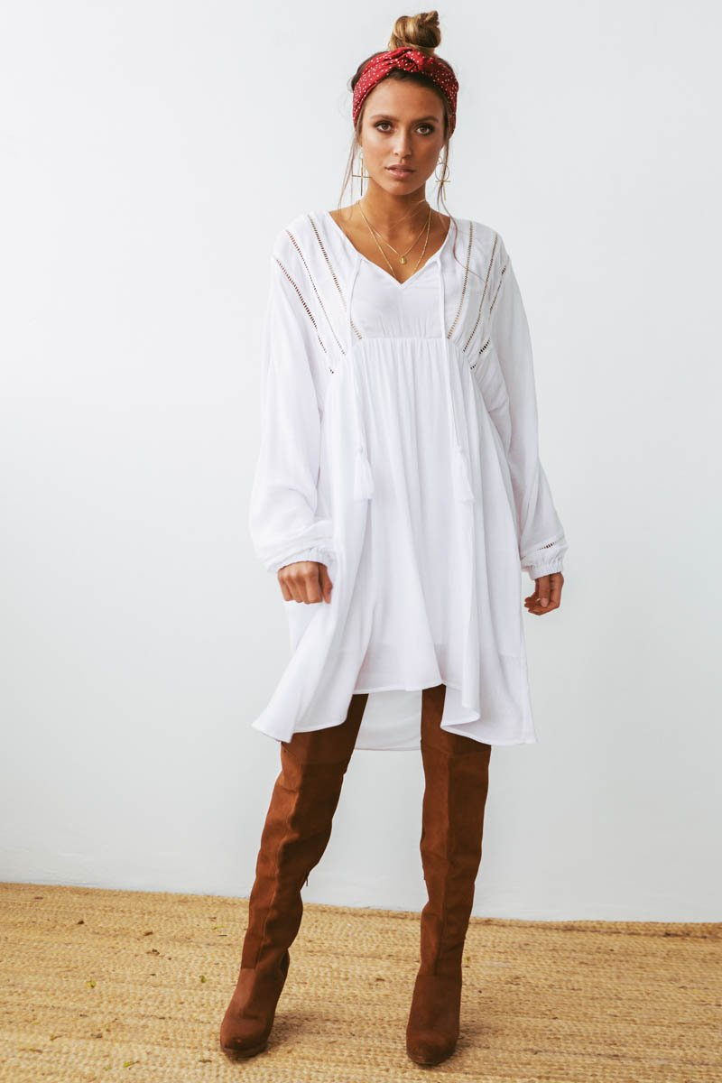 TONIA TUNIC - WHITE