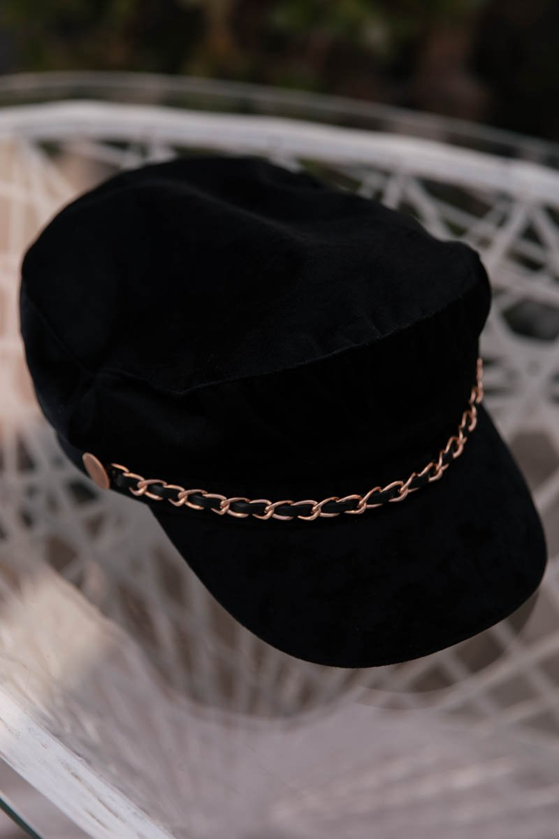 Bron Chain Link Captain Hat