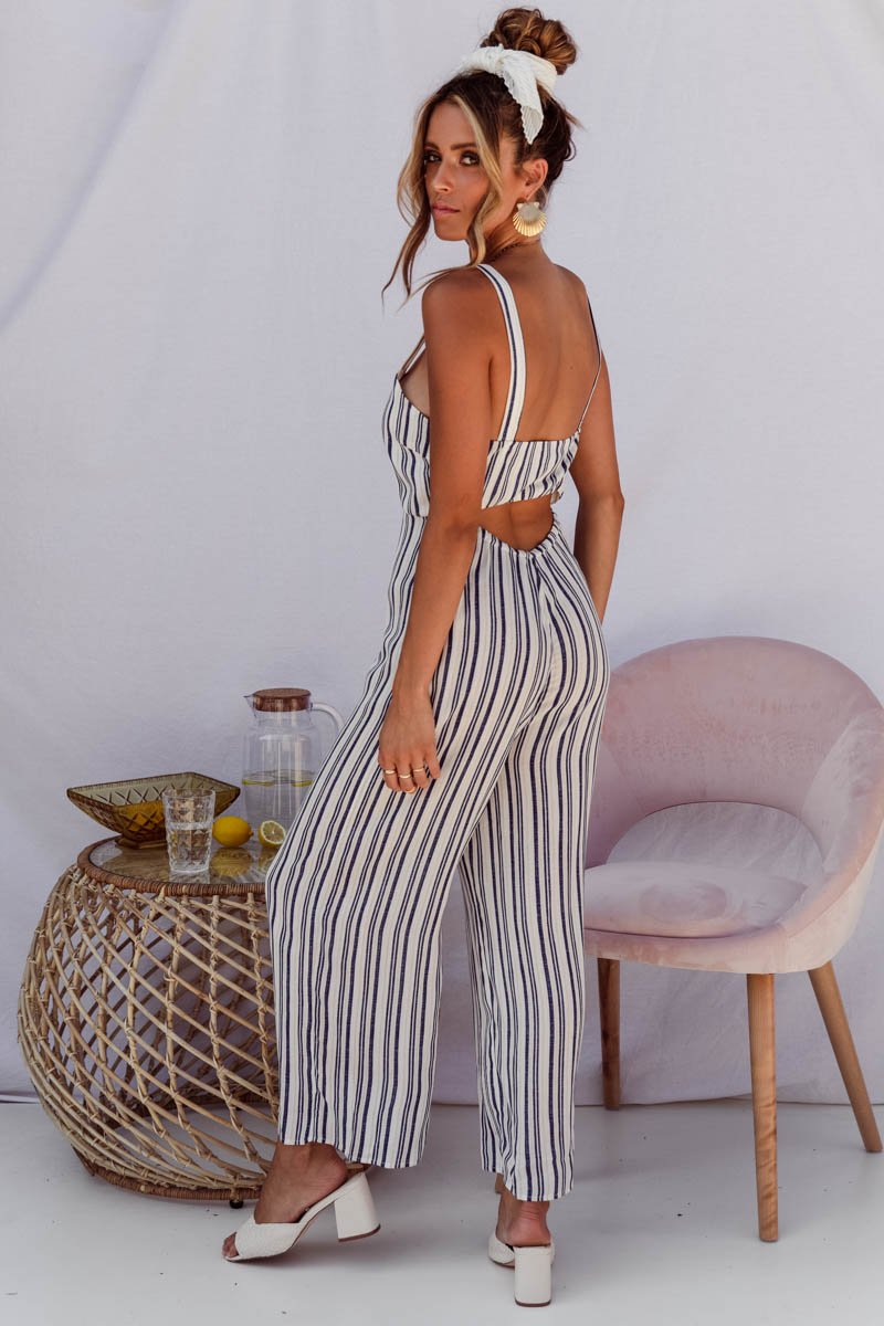 ANIMAL JUMPSUIT - STRIPE