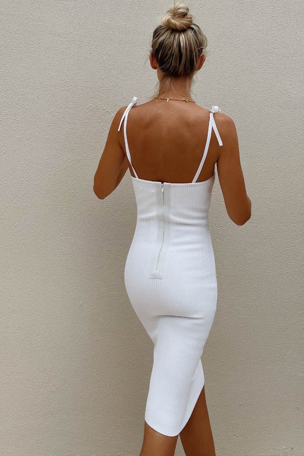 VIENNA DRESS - WHITE