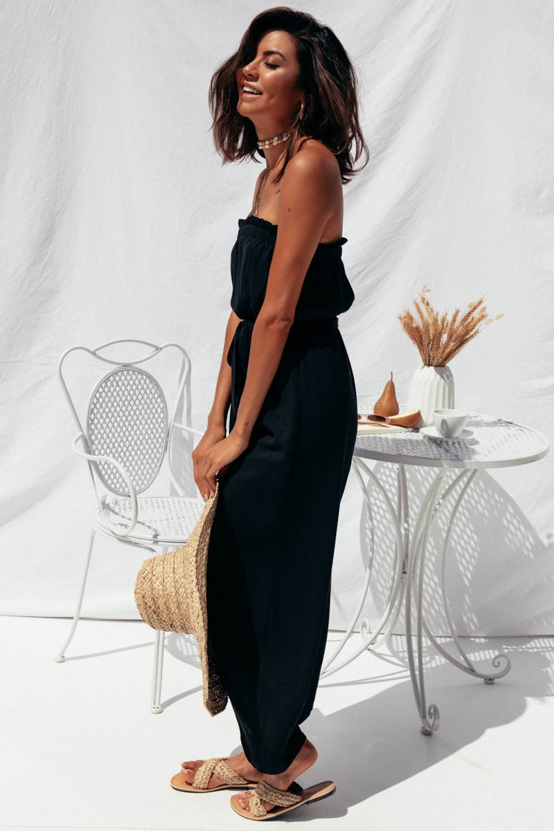 BLAKE JUMPSUIT - BLACK