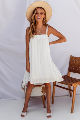 LEA DRESS - WHITE