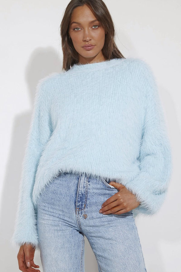 COZI KNIT - SOFT BLUE