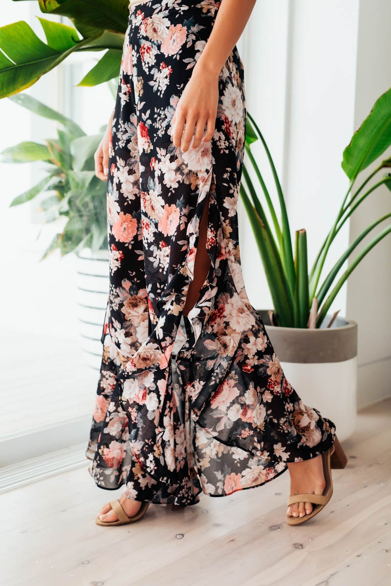 DOLLY PANT - FLORAL PRINT