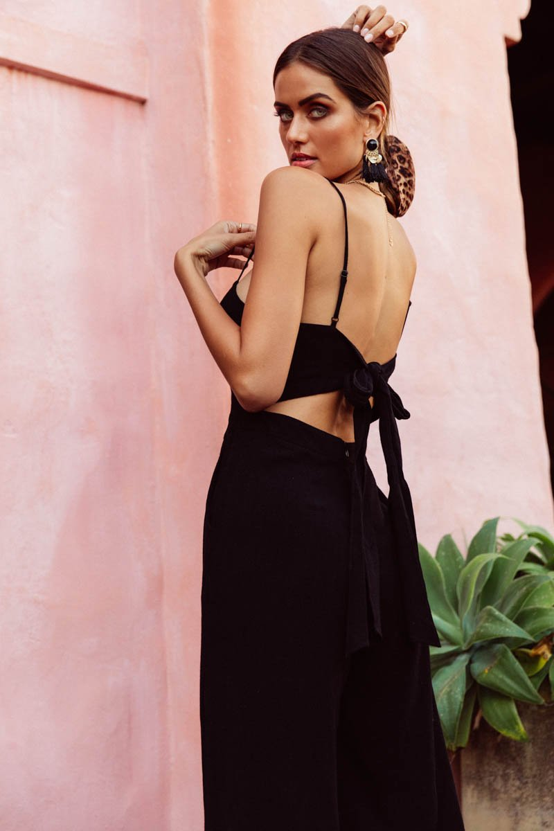 DREAM JUMPSUIT - BLACK