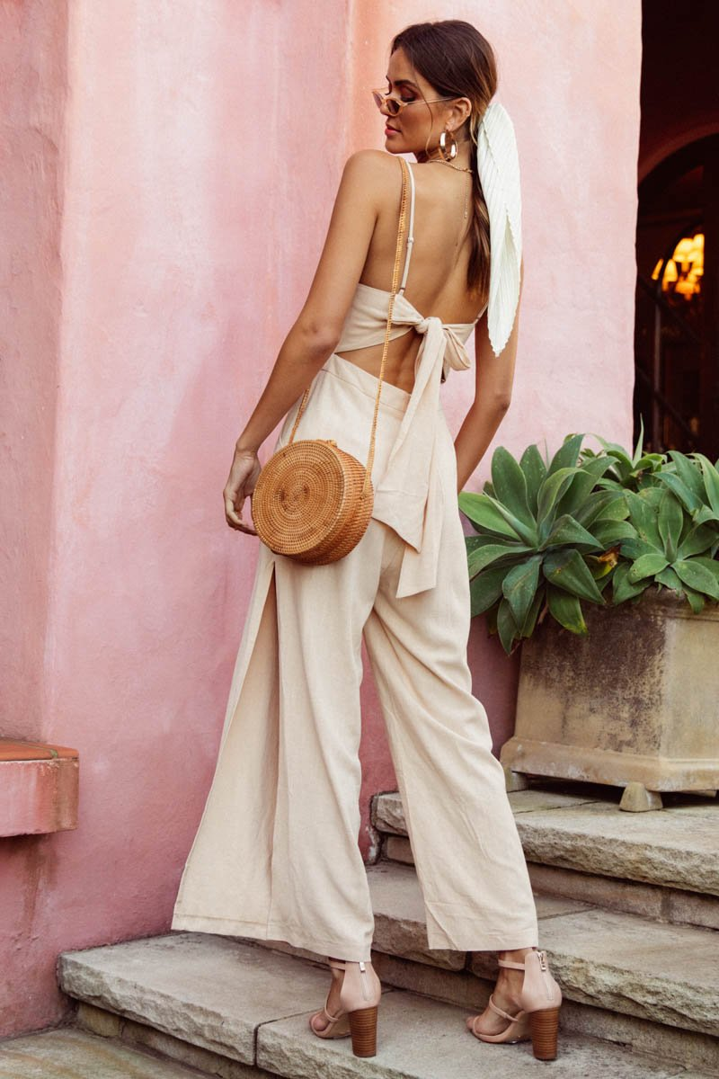 DREAM JUMPSUIT - SAND