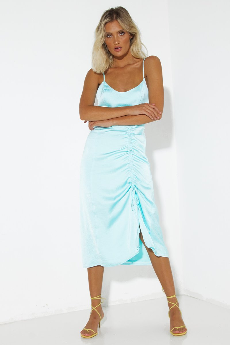 ELODIE DRESS - SKY BLUE