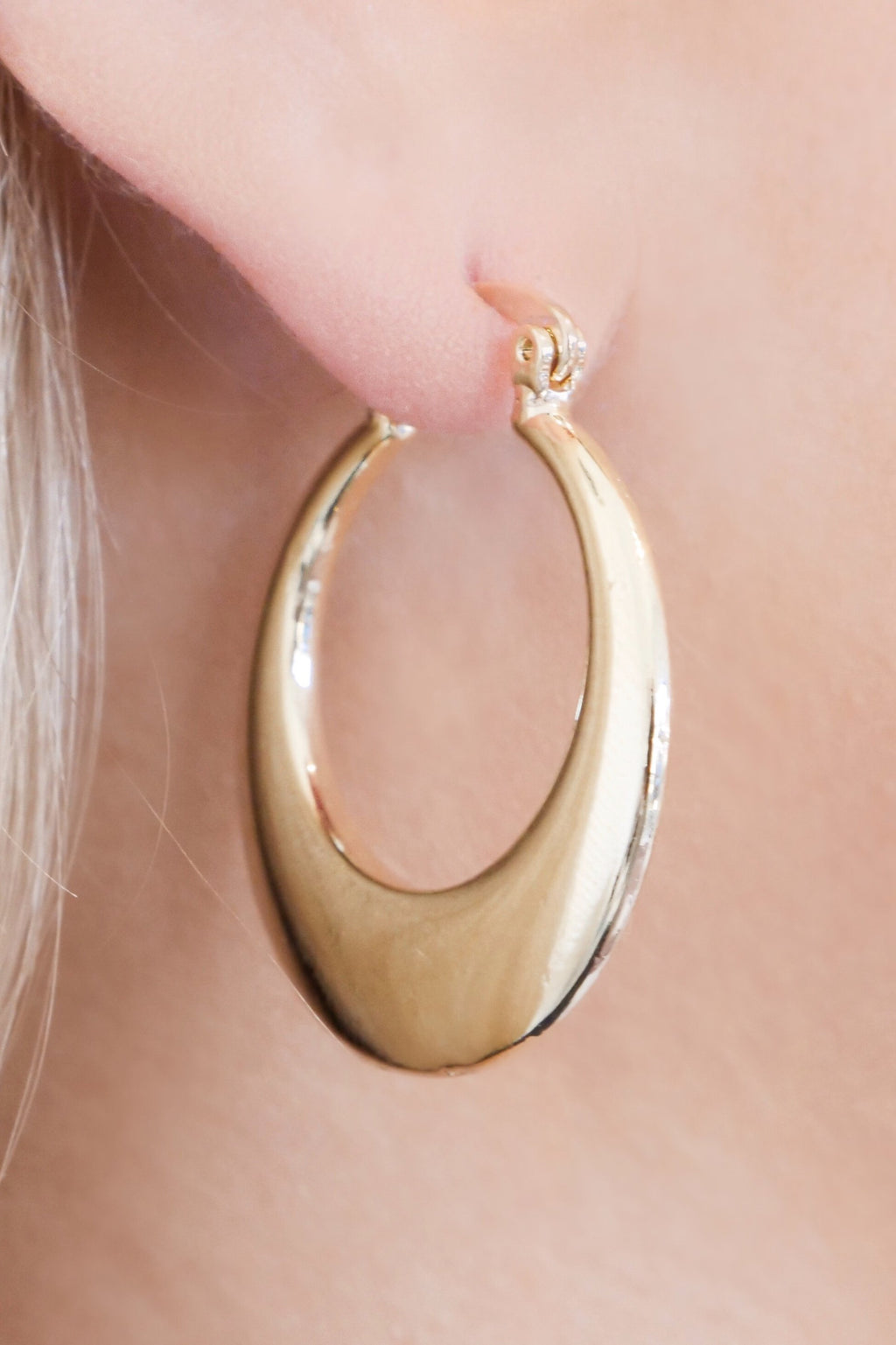 BRONTE HOOP EARRINGS - GOLD