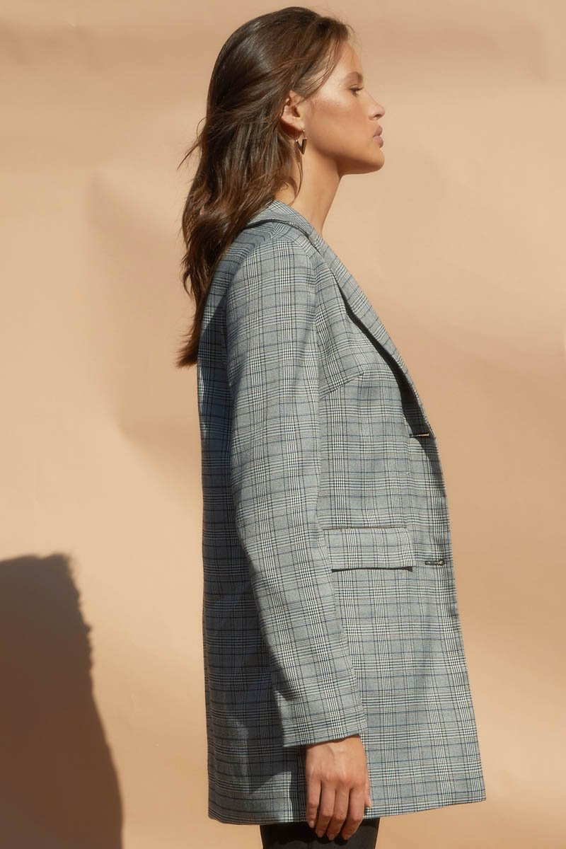 GAMES BLAZER - GREY TWEED