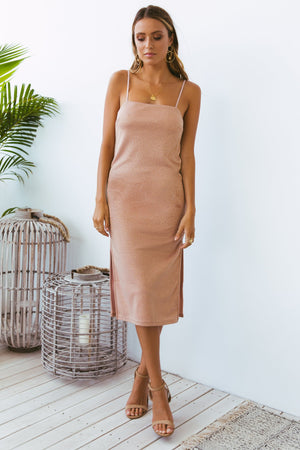 GERMAINE DRESS ROSE GOLD